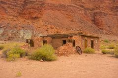 An old house in the desert Royalty Free Stock Images