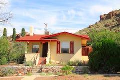 USA, Arizona/Kingman: Old House Stock Photo