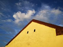 Old house detail. Beautiful house detail from east europe stock photography