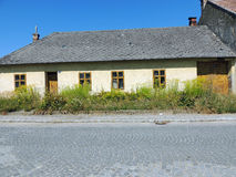 Old House. An old, dilapidated house in a small village in Austria Stock Image