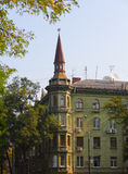 Old House in Dnepropetrovsk Royalty Free Stock Images