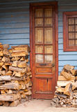 Old house and door Royalty Free Stock Photography