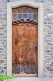 Old house door Royalty Free Stock Image