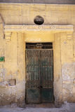 Old house door in Cairo, Egypt. Stock Photography