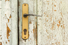 Old House Door Handle Stock Image