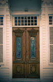 Old House door / split toning Royalty Free Stock Image