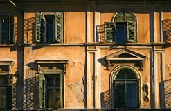 Old house facade Royalty Free Stock Photos