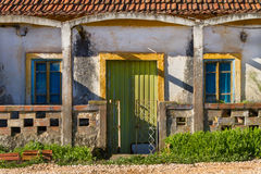 Old House Facade Royalty Free Stock Image