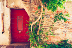 Old house facade, Provence, France Stock Photography