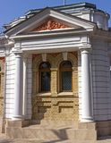 Old house facade in Yessentuki. Royalty Free Stock Images