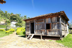 Old house on farm Royalty Free Stock Photography