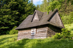 Old house in forest Royalty Free Stock Photo