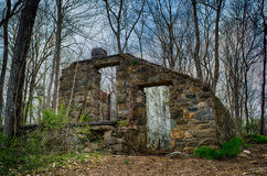 Old house in forrest Royalty Free Stock Images