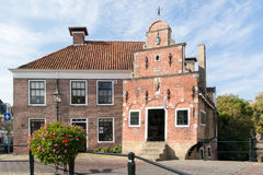 Old house in Franeker, Netherlands Royalty Free Stock Photography