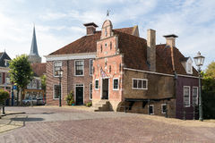 Old house in Franeker, Netherlands Stock Photos