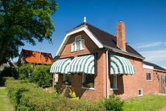 Old house in Friesland Royalty Free Stock Photos