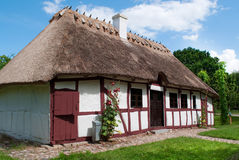 Old house from the funen village Stock Images