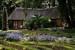 Old house and garden. Old house and garden shot is taken in Arnhem Holland royalty free stock photos