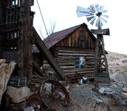 Old house in ghost town Royalty Free Stock Image