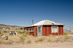 Old house in Goldfield desert Stock Images