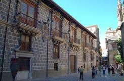 Old house in Granada, Spain Stock Image