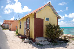 Old house in Grand Turk. Turks and Caicos Islands Royalty Free Stock Images