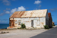 Old house in Grand Turk. Turks and Caicos Islands Royalty Free Stock Photos