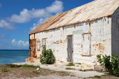 Old house in Grand Turk. Turks and Caicos Islands Royalty Free Stock Photo