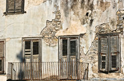 Old house in greece in the summer Royalty Free Stock Photography