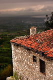 Old house in a greek village. Old house in a  village Stock Image