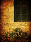 Old house grunge photo Royalty Free Stock Photos