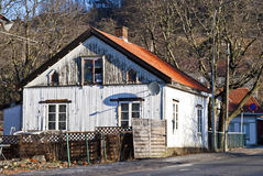 Old house in Halden. Stock Photos