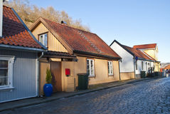 Old house in Halden. Stock Images