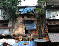 An Old House in Hanoi Royalty Free Stock Images