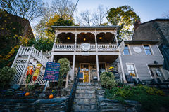 Old house in Harpers Ferry, West Virginia. Royalty Free Stock Photos