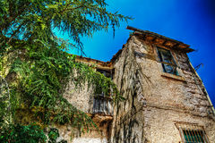 Old house in hdr Stock Image