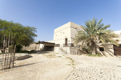 Old house in the highlands of Ras al Khaimah, United Arab Emirates Royalty Free Stock Photography