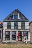 Old house in the historical center of Bolsward Royalty Free Stock Photo