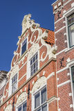 Old house in the historical center of Leeuwarden Royalty Free Stock Photo