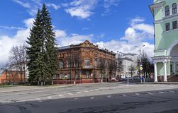 Old house in the historical center of Smolensk, Russia. Stock Photo