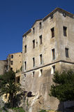 Old house in historical city Calvi on island Corsica,France Royalty Free Stock Photography