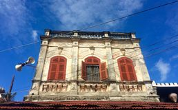 Old house in Hoian, Vietnam Royalty Free Stock Image