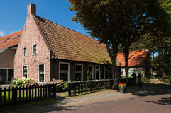 Old house in Hollum on the island Ameland, Netherlands Royalty Free Stock Image