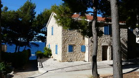 Old House in Hvar Royalty Free Stock Photo