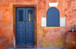 Old House In Greece Royalty Free Stock Photo