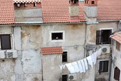Old House In Pula Stock Photos
