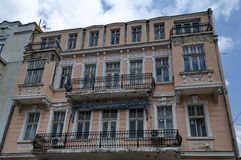 Old house with interesting facade Stock Photography