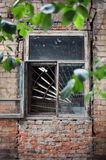 Old house in the Irkutsk city Royalty Free Stock Photo