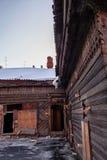 Old house in the Irkutsk city Stock Photos