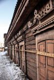 Old house in the Irkutsk city Stock Image